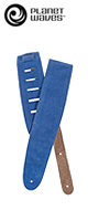 PLANET WAVES(プラネットウェイブス ) / Suede Straps 25SS04-DX ROYAL BLUE - ギターストラップ -