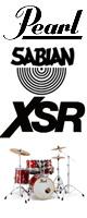 Pearl(パール) / Session Studio Classic コンパクトサイズ/ドラムフルセット SABIAN XSRシリーズセット 【SSC905/C-DXR】 - ドラムセット - ■限定セット内容■→ 【・ドラムマット 】