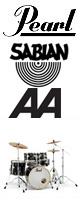 Pearl(パール) / Session Studio Classic スタンダードサイズ/ドラムフルセット SABIAN AAシリーズセット 【SSC925S/C-DA】 - ドラムセット - ■限定セット内容■→ 【・ドラムマット 】