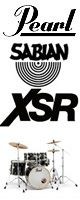 Pearl(パール) / Session Studio Classic スタンダードサイズ/ドラムフルセット SABIAN XSRシリーズセット 【SSC925S/C-DXR】 - ドラムセット - ■限定セット内容■→ 【・ドラムマット 】