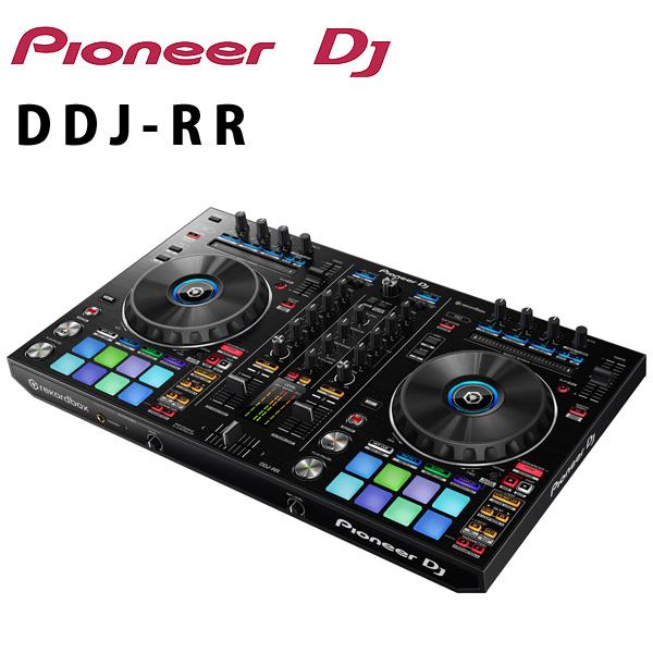 Pioneer(パイオニア) /  DDJ-RR 【REKORDBOX DJ 無償】- PCDJコントローラー -