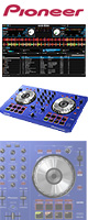 Pioneer(パイオニア) / DDJ-SB-L (BLUE)  【Serato DJ Intro 無償】 PCDJコントローラー ■限定セット内容■→ 【・教則DVD ・金メッキ高級接続ケーブル 3M 1ペア 】