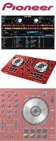 Pioneer(パイオニア) / DDJ-SB-R (RED)  【Serato DJ Intro 無償】 PCDJコントローラー ■限定セット内容■→ 【・教則DVD ・金メッキ高級接続ケーブル 3M 1ペア 】