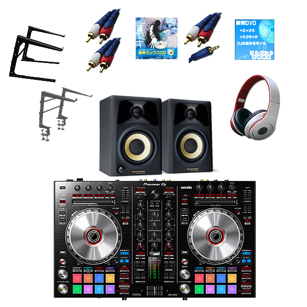Pioneer(パイオニア)  / DDJ-SR2 /studio scope3  激安定番セット 【Serto DJ 対応】  13大特典セット