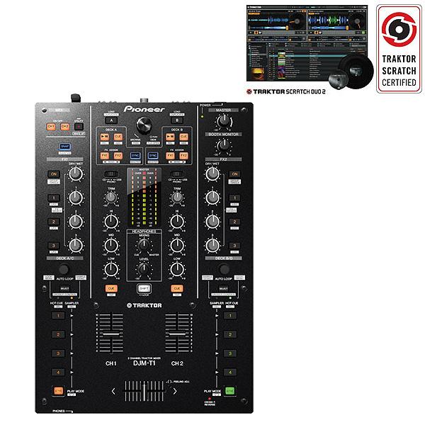 Pioneer(パイオニア) / DJM-T1【TRAKTOR SCRATCH DUO 2 ソフト同梱】■数量限定特別価格■
