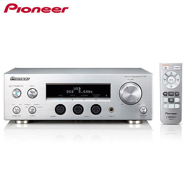 Pioneer(パイオニア) / U-05 - ヘッドホンアンプ内蔵型USB DAC - 1大特典セット