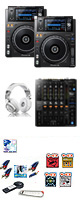 XDJ-1000MK2 / DJM-750MK2 激安ハイアマオススメBセット 12大特典セット