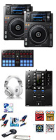 XDJ-1000MK2 / DJM-S3 / DDJ-SP1激安ハイアマオススメBセット 大特典セット