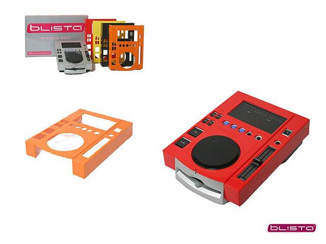 【限定1台】 Blista(ブリスタ) / フェイスプレート 100 RED (2個入り) 【CDJ-100S対応】『セール』『DJ機材』