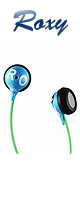 ROXY(ロキシー) / JBL Reference 230 Earbud Headphone (Blue/Green)
