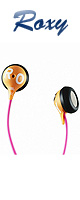 ROXY(ロキシー) / JBL Reference 230 Earbud Headphone (Orange/Pink)