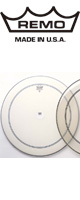 REMO(レモ) / POWERSTROKE 3 COATED 24インチ 【P3-126B】 - バスドラム用ヘッド -