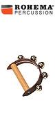 ROHEMA(ロヘマ) / 61572 [leather hand bell with 5 bells]  - ハンドベル -