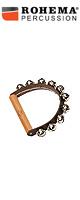 ROHEMA(ロヘマ) / 61574 [leather hand bell with 10 bells]  - ハンドベル -