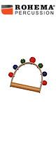 ROHEMA(ロヘマ) / 61575F [leather hand bell with 6+1 colored bells]  - ハンドベル -