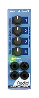 Radial(ラジアル) / ChainDrive 500 (RD0172) -1イン4アウト・ラインレベル・スプリッター-