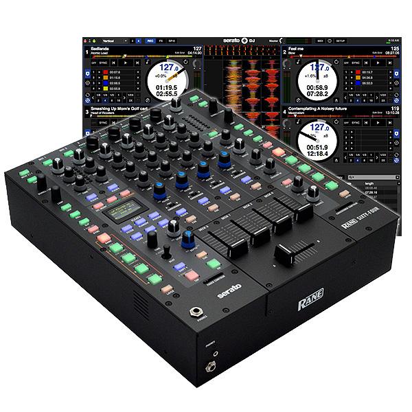 Rane(レーン) / SIXTY-FOUR 【Serato DJ インターフェース内蔵 4ch DJミキサー】 【HIBINO正規輸入品 2年保証】