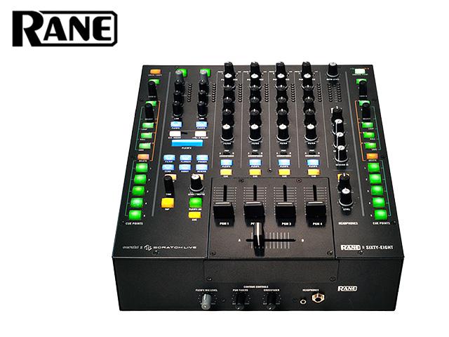 Rane(レーン) / Sixty-Eight (SCRATCH LIVE) 【HIBINO正規輸入品 2年保証】 ■限定セット内容■ 【・最上級ケーブルBelden 1ペア ・ミックスCD作成KIT 】