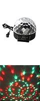 RioRand / Crystal Ball (S9D) - ステージライト -  【DJ / クラブ / ショー / パーティー / バー / ウェディング / クリスマス等に最適】