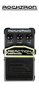 Rocktron(ロックトロン) / Reaction Compressor  -コンプレッサー- 《ギターエフェクター》 ■限定セット内容■ 【・パッチケーブル(KLL15) 】