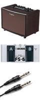 Roland(ローランド) / AC-33RW フットスイッチFS-6セット - ギターアンプ アコースティック - 1大特典セット