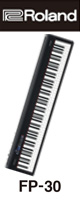 Roland(ローランド) / FP-30-BK Bluetooth対応 ポータブル・電子ピアノ 【88鍵盤】