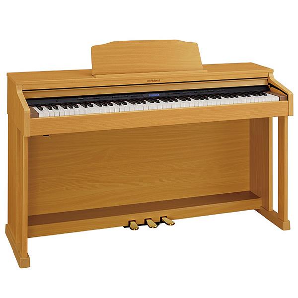 Roland(ローランド) / HP601-NBS (ナチュラルビーチ調仕上げ) 【楽譜集2冊・ヘッドホン・専用高低自在椅子付属】 - デジタル・ピアノ - 【11月25日発売予定】