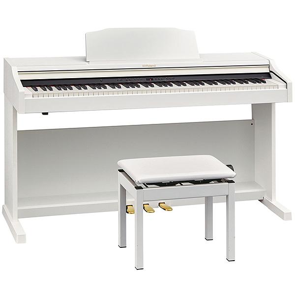 Roland(ローランド) / RP501R-WHS Digital Piano ホワイト - デジタルピアノ -【楽譜集・専用高低自在椅子付属】 -デジタル・ピアノ - 【全国配送・組立設置無料(※離島は除く・代引き不可)】