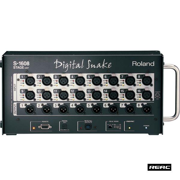 Roland(ローランド) / S-1608 【16イン8アウトI/Oユニット】
