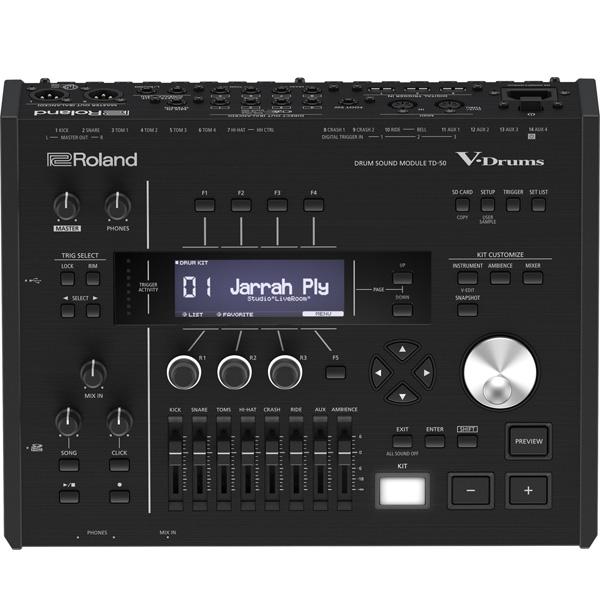 【イベント使用品】Roland(ローランド) / TD-50 - Vドラムサウンドモジュールー 【V-Drum用アクセサリー】『Vドラム特価品』