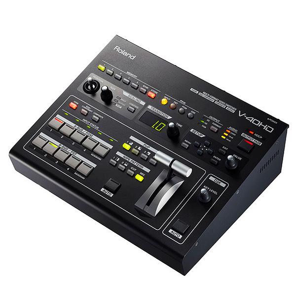 【限定1台】Roland(ローランド) / V-40HD  - マルチフォーマット ビデオスイッチャー - 【箱傷有り/新品未使用/通常保証付】『セール』