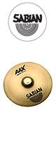 SABIAN(セイビアン) / AAX Splash 10インチ -Extra Thin- 【AAX-10SP-B】 ■限定セット内容■→ 【・シンバルワッシャー 】