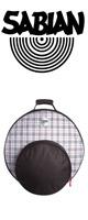 SABIAN(セイビアン) / FAST Cymbal -Bags Bold in Plaid- 【SAB-F22BPD】  [シンバルバッグ シンバルケース]
