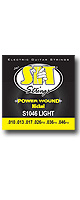 SIT STRINGS(エスアイティストリングス) /  S1046 POWER WOUND-Nickel Round Wound LIGHT / 010P〜046PW - エレキ弦 -