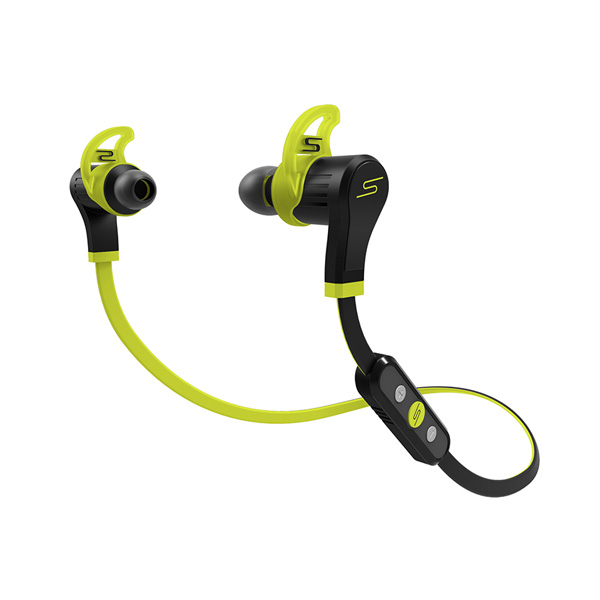 SMS Audio / SYNC by 50 Sport InEar Bluetooth (YELLOW) - 防滴仕様スポーツ用ワイヤレスイヤホン - 『セール』『ヘッドホン』