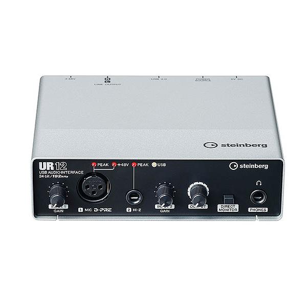 STEINBERG(スタインバーグ) / UR12 - 2 x 2 USB オーディオインターフェース  -