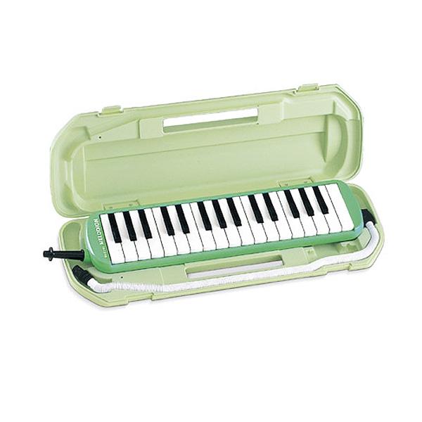 SUZUKI(スズキ) / MX-32C (パステルグリーン) アルトメロディオン  - 鍵盤ハーモニカ - 【カワイ / 32MXと同じ仕様】