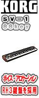 Korg(コルグ) / SV-1 88key (SV-1 Stage Vintage Piano) ■限定セット内容■→ 【・キーボードバック 】
