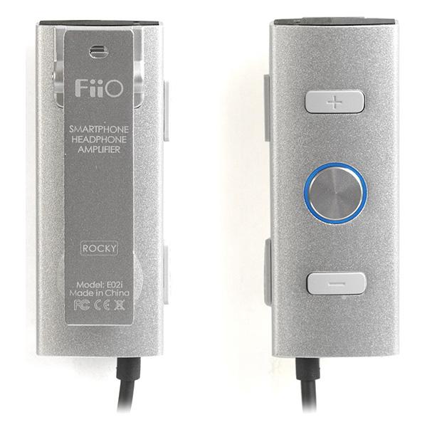 Fiio(フィーオ) / E02i (ROCKY) シルバー 【iPhone5対応!アンプ/コントローラー/マイク搭載 ポータブル・スマートフォンアンプ】