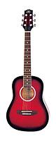 SX Guitars(エスエックス ギターズ) / DG-27 RDS  ミニギター 【キャリングバッグ付属】 お子様用にオススメ