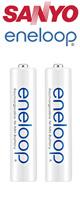 Sanyo(サンヨー) / eneloop:充電式ニッケル水素電池(単4形2本)