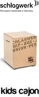 Schlagwerk(シュラグヴェルク) / SR-CP401 【Hip Box】キッズ・カホン