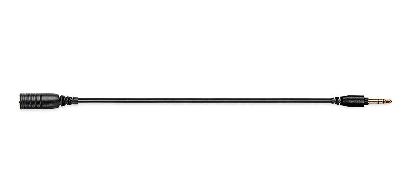 Shure(シュアー) / EAC9BK (ブラック / 23cm) - イヤホンエクステンションケーブル / 延長ケーブル - 【国内正規品】