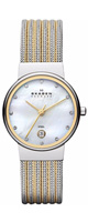 Skagen(スカーゲン) / Silver and Gold Tone Mesh Watch 355SSGS - レディース腕時計 -