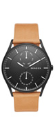 Skagen(スカーゲン) / Holst Multifunction Leather Watch SKW6265 - 腕時計 -