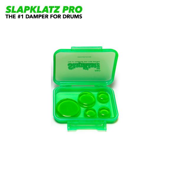 SlapKlatz(スラップクラッツ) / SLAPKLATZ PRO A.GREEN 【10枚+専用ケース付き】 - ミュートジェル -