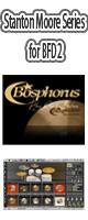 Bosphorus Cymbals / Stanton Moore Series for BFD2