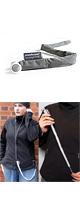Stashcord(スタッシュコード) / The Smart Fabric Sleeve - イヤホン用絡まり防止スリーブ -(Charcoal)