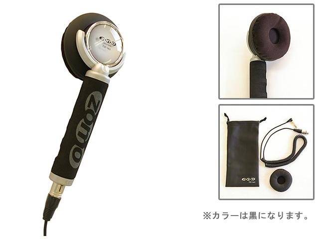 Zomo(ゾモ) / Stick Headphone HD-120 (Black) - 片耳ヘッドホン/スティック型 DJヘッドホン - 【カールコード仕様】 1大特典セット