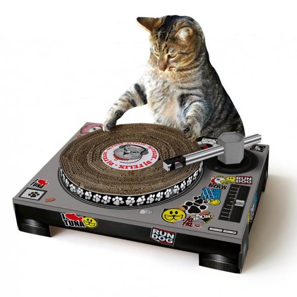 Suck UK(サックユーケー) / Cat Scratch - ターンテーブル型 ネコ用 爪とぎ -